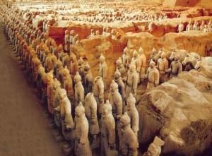 Терракотовая армия грандиозное захоронение Сианя